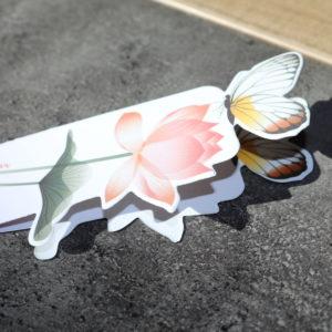Marque page papillon 3d boutique tremplin carrière