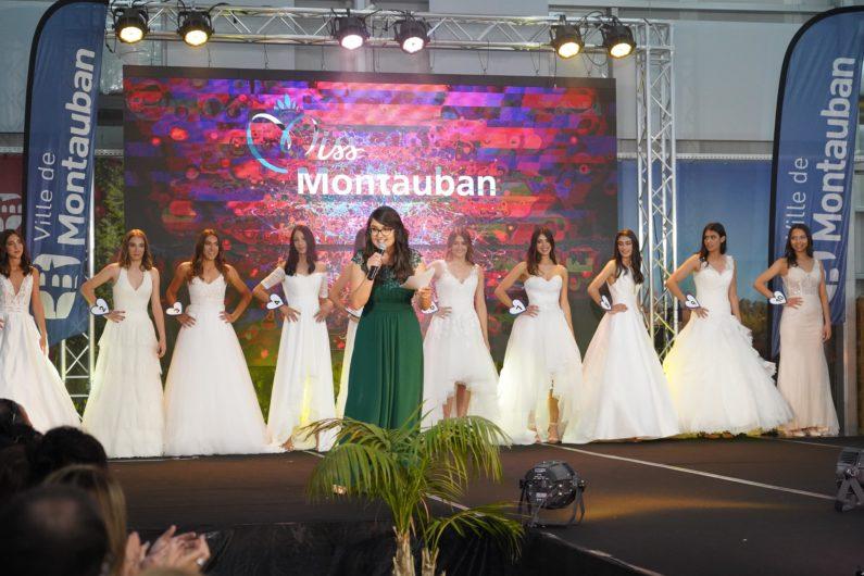 Animation micro Tremplin Carrière - Miss Montauban pour Miss Midi Pyrénées pour Miss France